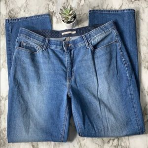 Levi's 525 Perfect Waist Stretch Jeans Size 16